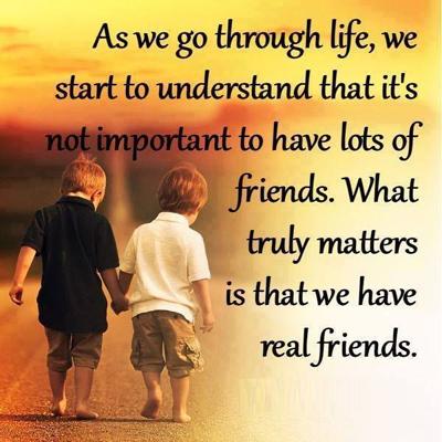 اقوال عن الصداقة