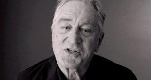 الممثل الامريكي روبرت دي نيرو