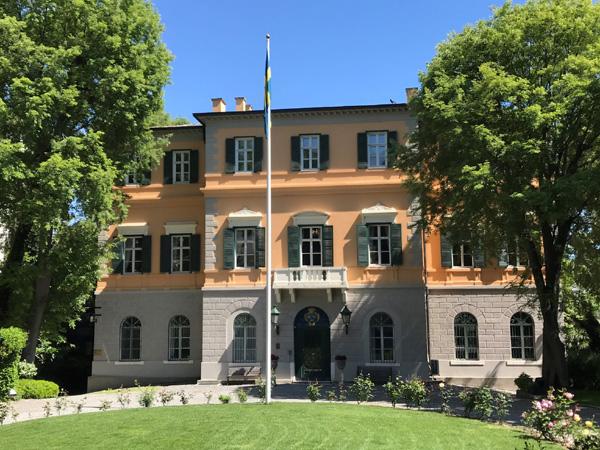 القنصلية السويدية في اسطنبول