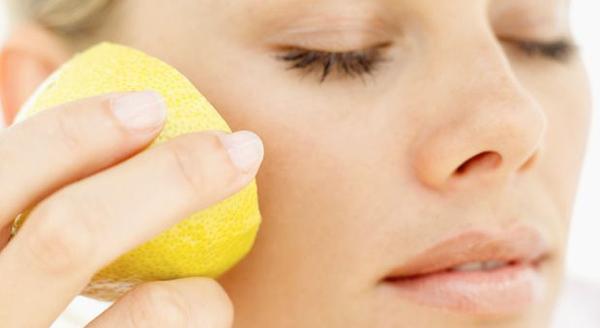 طريقة تبييض الوجه