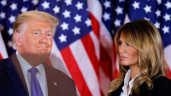 زوجة الرئيس الامريكي ميلانيا ترامب
